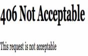 Mobil girişlerde – 406 Not Acceptable Hatası